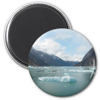 Cruising Alaska Inside Passage 2 Inch Round Magnet