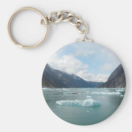 Cruising Alaska Inside Passage Basic Round Button Keychain