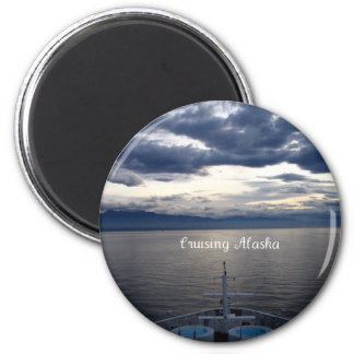 Cruising Alaska Magnet