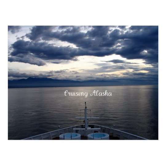 Cruising Alaska Postcard