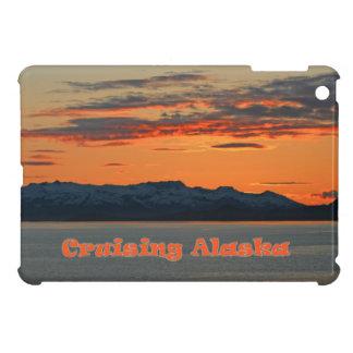 Cruising Alaska / Vivid Orange Sunset iPad Mini Case