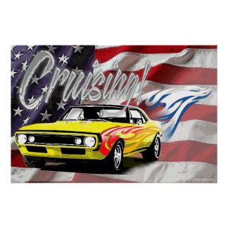 Cruising American Style Poster