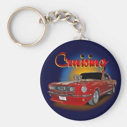 Cruising classic keychain