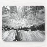 Cruising down a buff section of singletrack 2 mousepads