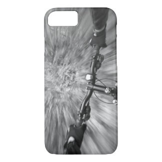 Cruising down a buff section of singletrack iPhone 7 case