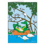 Cruising Duet - The Alligators Greeting Card