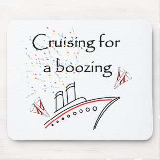 Cruising for a Boozing Mouse Pad