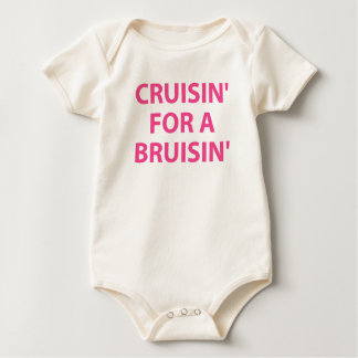 Cruising for a Bruising Baby Bodysuit