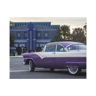 Cruising into the Reilly Canvas Print