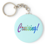 Cruising Multicolor keychain