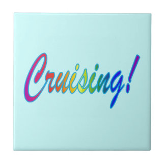 Cruising Multicolor Tile