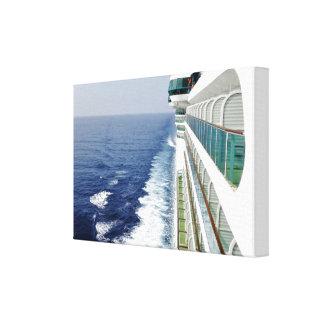 Cruising on Balcony Row Canvas Print