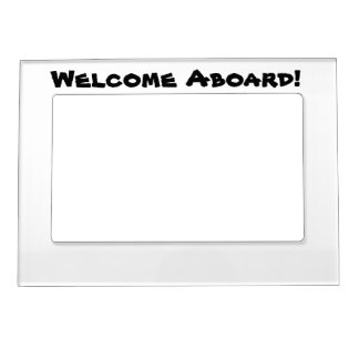 Cruising on Ship Door Decors Magnetic Picture Frame