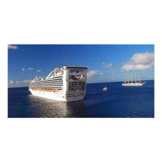 Cruising on the high seas card