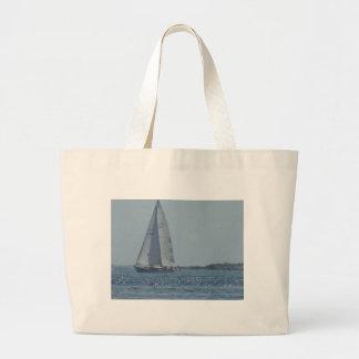 Cruising Sailboat 2 Jumbo Tote Bag