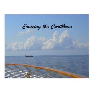 Cruising the Caribbean Postcard