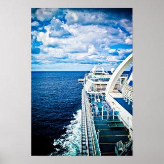 Cruising the Caribbean Poster
