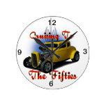 Cruising the fifties clock