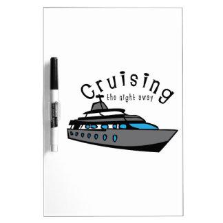 Cruising The Night Away Dry-Erase Whiteboard