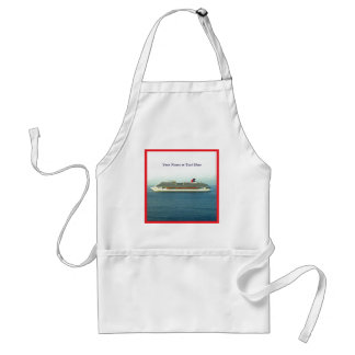 Cruising the Tropics Personalized Adult Apron