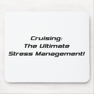 Cruising The Ultimate Stress Management Mouse Pad
