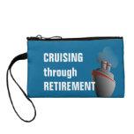 Cruising Through Retirement Cruise Travel Coin Purse