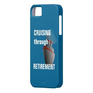 Cruising Through Retirement Rich Aqua iPhone SE/5/5s Case