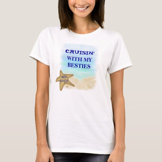 CRUISING TSHIRTS FOR BEST FRIENDS TANK TOP