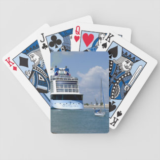 Cruising West Sailing East Bicycle Playing Cards