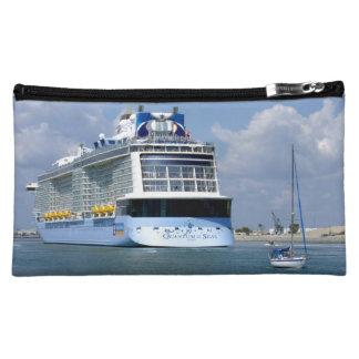 Cruising West Sailing East Cruise Travel Makeup Bag