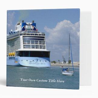Cruising West Sailing East Custom Binder