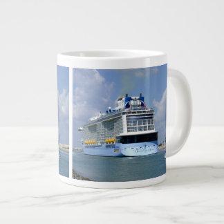 Cruising West Sailing East Large Coffee Mug