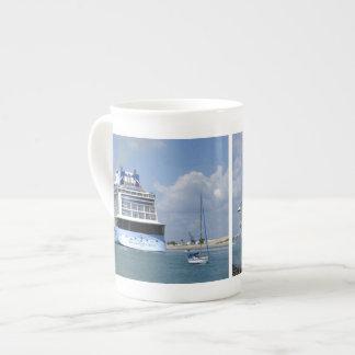 Cruising West Sailing East Tea Cup