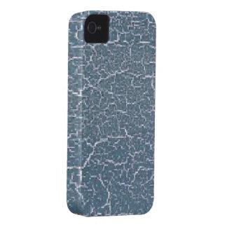Crujido azul Case-Mate iPhone 4 funda