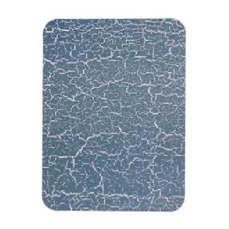 Crujido azul imanes flexibles