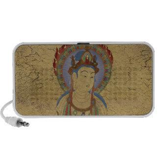 Crujido Backg del locutor del Doodle de Buda de la Altavoz De Viaje