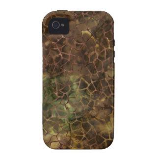 Crujido de Brown iPhone 4/4S Fundas