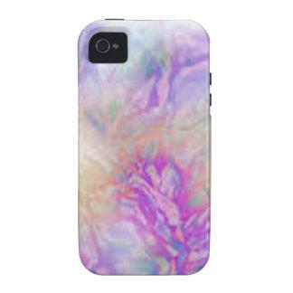 Crujido en colores pastel vibe iPhone 4 carcasas