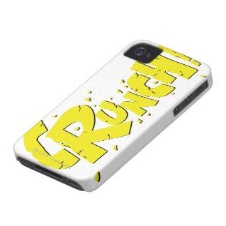 ¡CRUJIDO! iPhone 4 Case-Mate FUNDAS