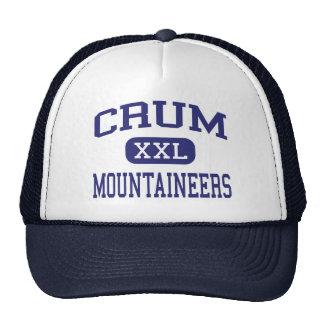 Crum Mountaineers Middle Crum West Virginia Trucker Hat