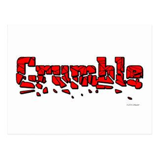 Crumble Postcard