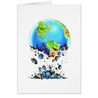 crumbling earth card