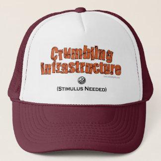 Crumbling Infrastructure... Trucker Hat