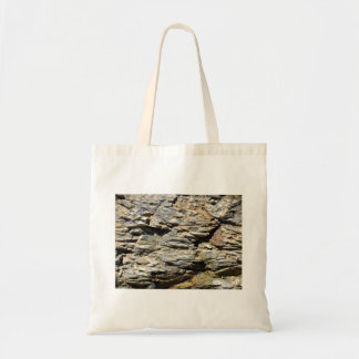 Crumbling Rock Cliff Texture Tote Bag
