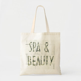 crumbling Spa & Beauty tote