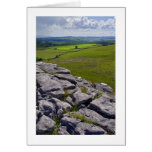 Crummack Dale, valles de Yorkshire Felicitación