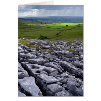 Crummack Dale, Yorkshire Dales Greeting Card