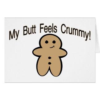 Crummy Butt Card