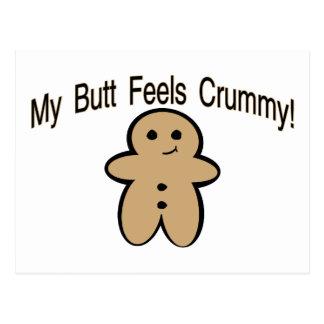 Crummy Butt Postcard