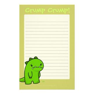Crump Crump Writing Pad Stationery